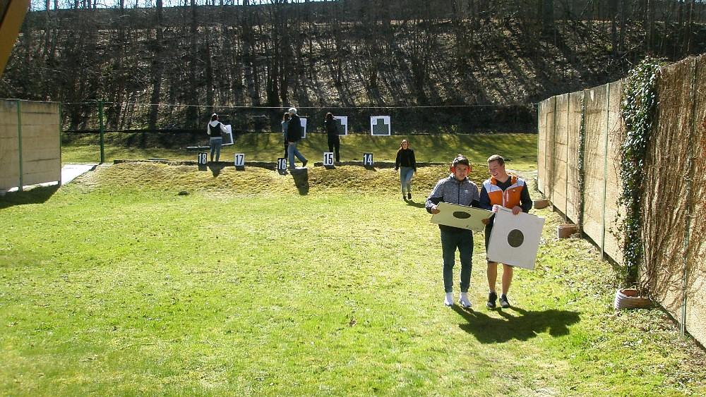Vítání jara na střelnici v Manušicích