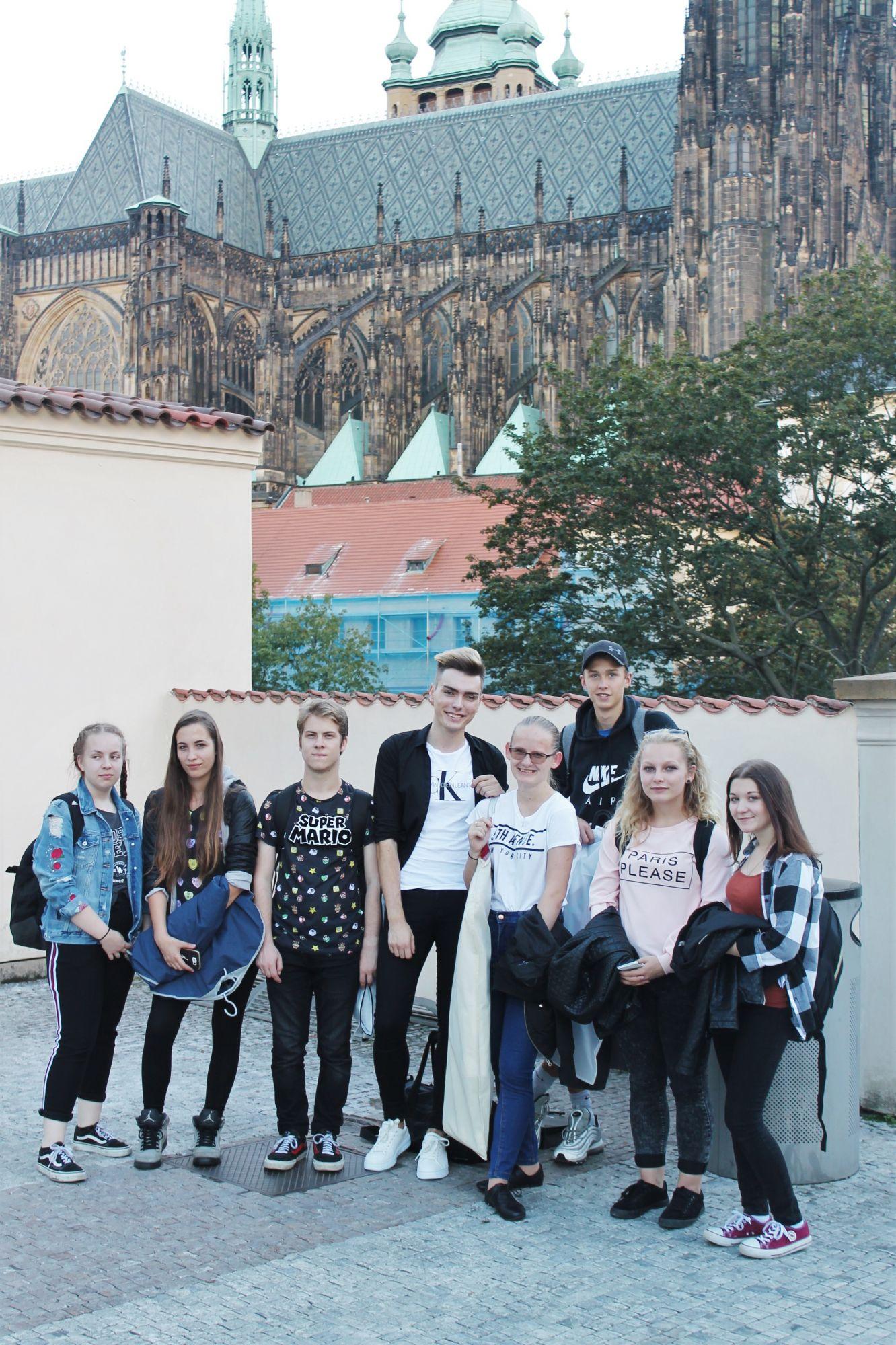Praxe na Pražském hradě odstartovaly