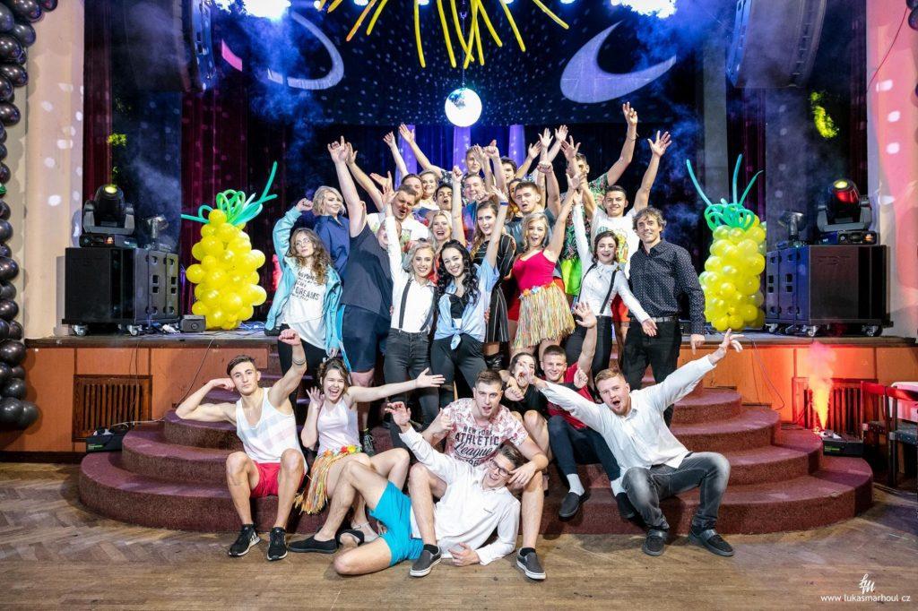 Maturitní ples P4B