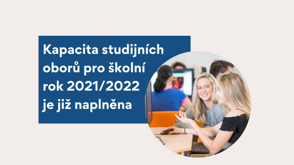 Vyhlášení 2. kola přijímacího řízení pro školní rok 2021/2022